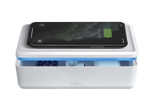 Charging Plug - White Energea - Stera360 UVC LED Sanitising Disinfection Box