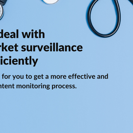 How to deal with post market surveillance more efficiently