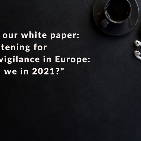 Social Listening for Pharmacovigilance in Europe: Where are we in 2021?