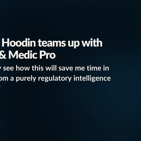 Interview: Hoodin teams up with Bluefinch & Medic Pro