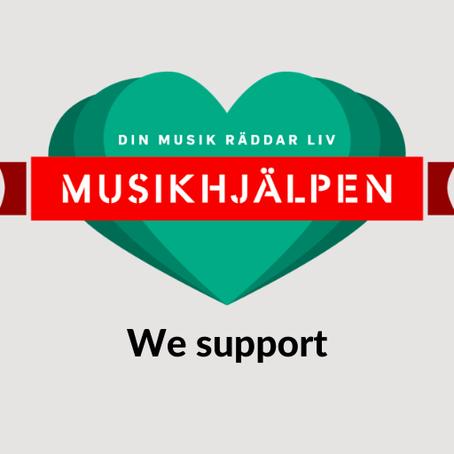 Merry Christmas & kudos to Musikhjälpen!