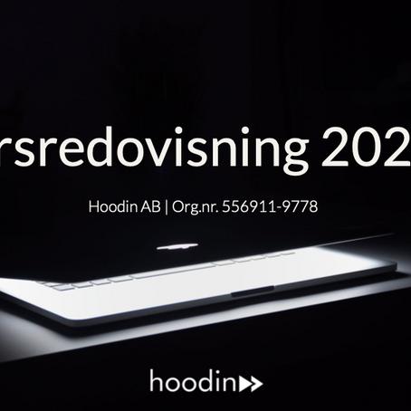 Hoodin AB (publ) publicerar årsredovisning för 2020