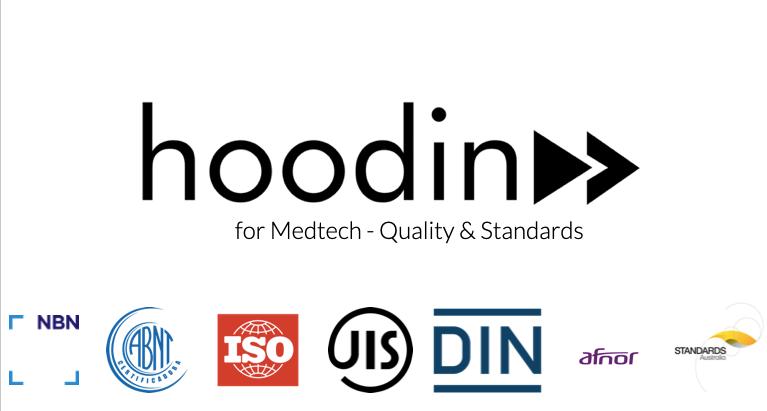 Hoodin lanserar ny lösning för Medtech