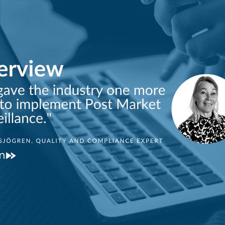 5 questions with Medtech regulatory expert Anette Sjögren
