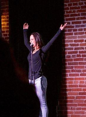 Samantha Romanick presenting at Ignite Reno #16