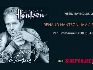 Podcast Renaud Hantson de A à Z, par Emmanuel Didierjean.