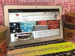 Artisan 2.0 : Un site e-commerce pour la Poterie Wehrling à Soufflenheim.