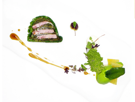 Bacon and Cabbage - Kevin Thornton's Reimagining of an Irish Favourite