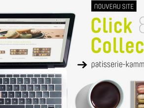 La Pâtisserie Kamm à Sélestat et Dambach-la-Ville se dote d'une plateforme Click & Collect