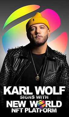 New World Expands into Music NFTs and Signs Karl Wolf