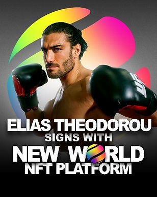 New World Inc. to Sell Elias Theodorou NFT as Part of MMA Event