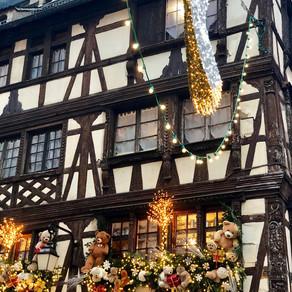 Christmas Atmosphere in Strasbourg