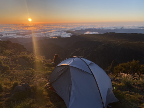 Madeira Island: hiking and wild camping