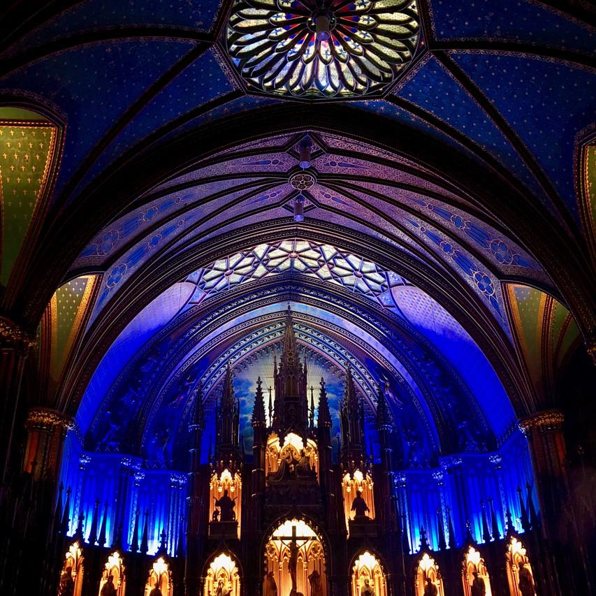 Notre Dame Cathedral - Montréal