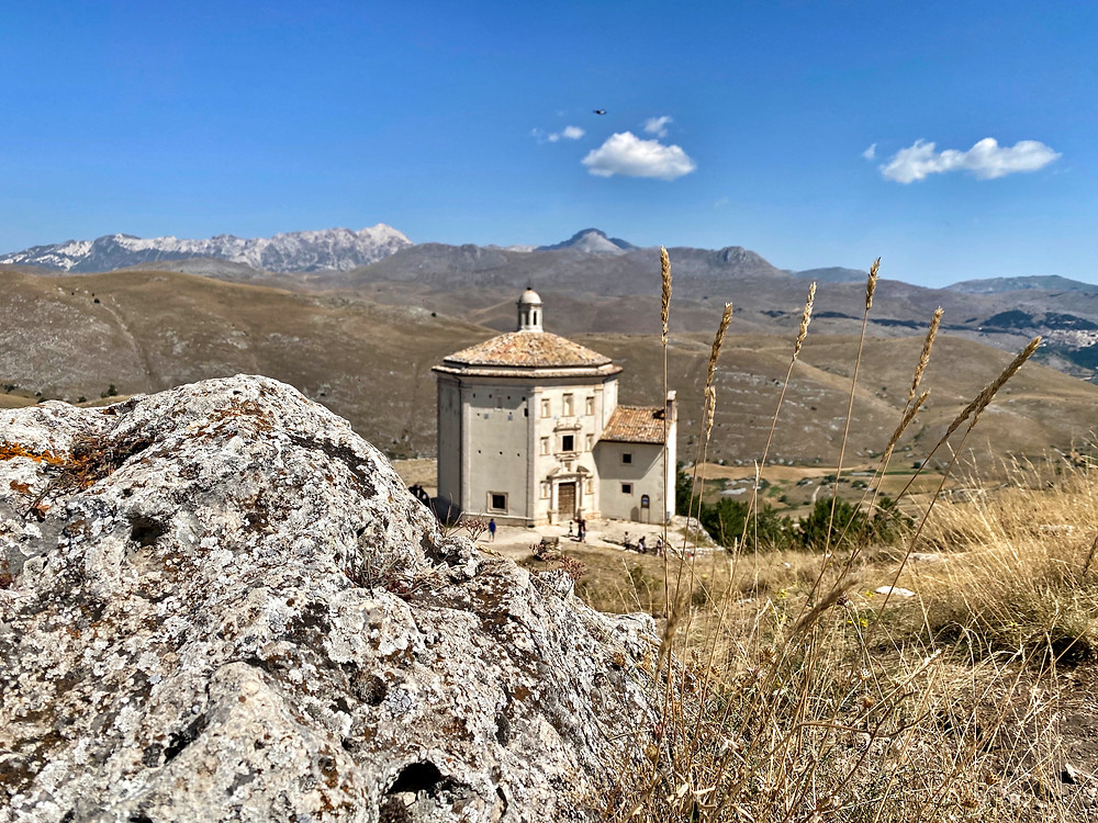 Rocca Calascio is the highest fortress in Europe, a mystic place surrounded by a rich vegetation. The Rock can be reached from Calascio by public bus or by walk.