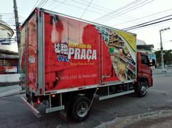 Caminhão Baú liso