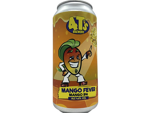 4t's - Mango Fever -IPA-  4.6% 440ml cans