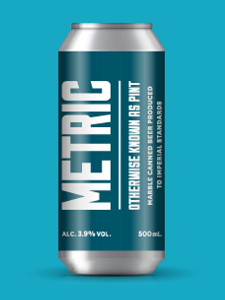 Marble Brewery - Metric 500ml Can
