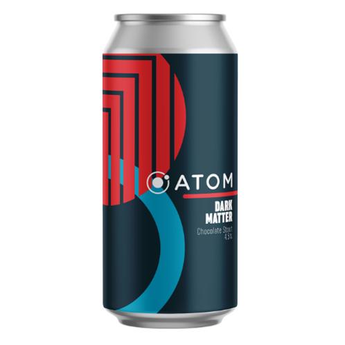 Atom Beers- Dark Matter – Chocolate Stout – 4.5% – 440ml