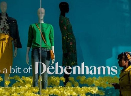 Debenhams to close more stores with the loss of 300 jobs