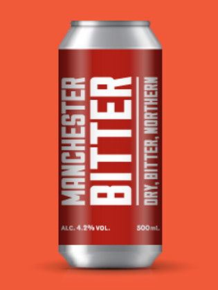 Marble Brewery -Manchester Bitter 500ml Can