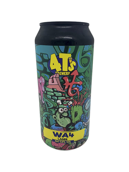 4t's -WA4 Craft Lager  4% 440ml cans