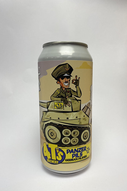 4t's - Panzer Pils - 4.8% 440ml cans