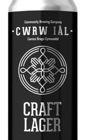 Cwrw Ial - Craft Lager