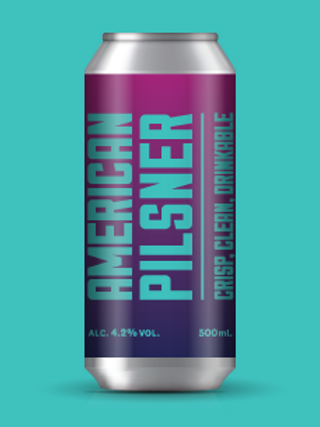 Marble Brewery - American Pilsner 500ml Can