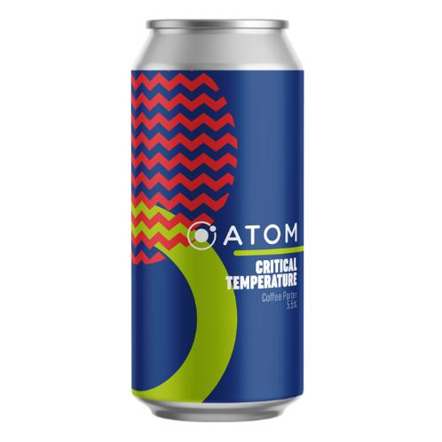 Atom Beers Critical Temperature – Coffee Porter – 5.5%