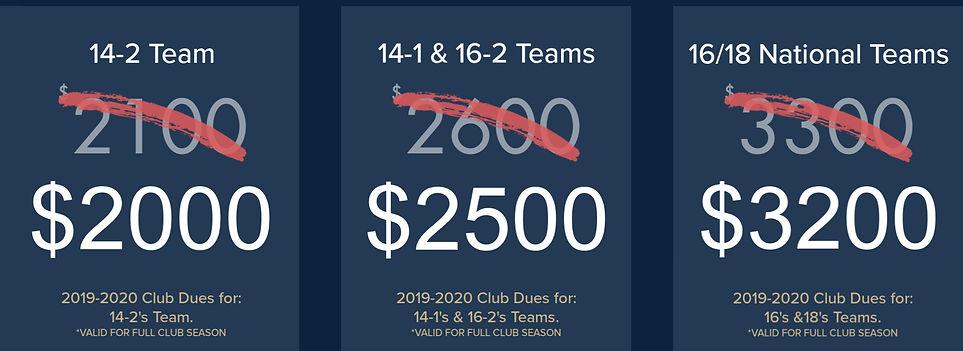 OPV Club Pricing