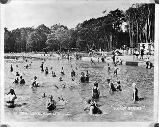 Hamilton Lake 1927