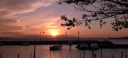 Sonnenuntergang Trasimenischer See