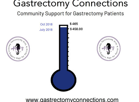 Gastrectomy Connections Donations