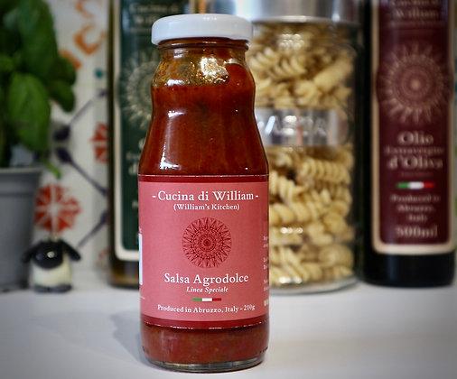 Cucina di William Salsa Agrodolce 210g