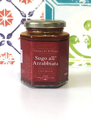 Cucina di William Sugo all'Arrabbiata 314ml