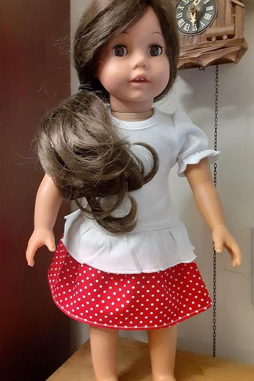 Maria Gathered skirt