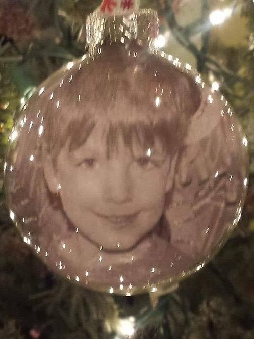 Custom Christmas Ball Ornament