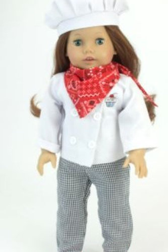 """18"""" Doll Chef Outfit"""