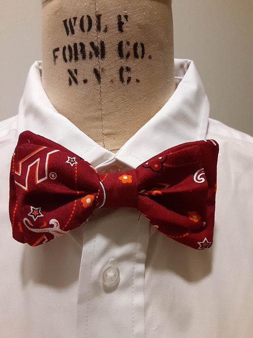Hokie Bow Tie