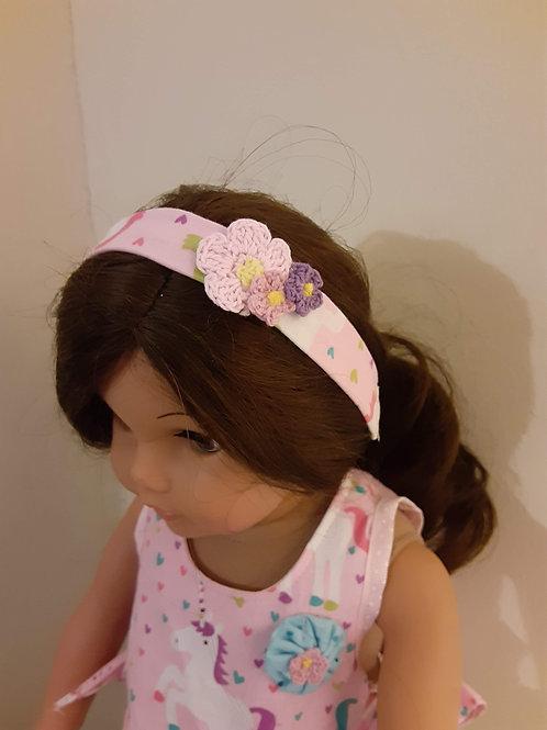 "18"" Doll Headband"