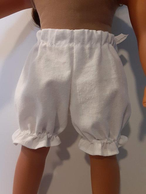 Doll bloomer panties