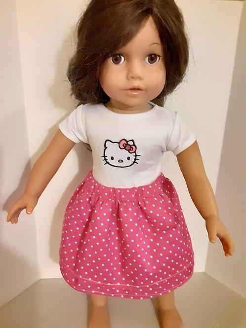 Kitty Skirt set