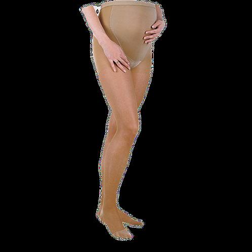 Колготки для беременных, прозрачные, компрессионные (профилактический, 15-18 мм.