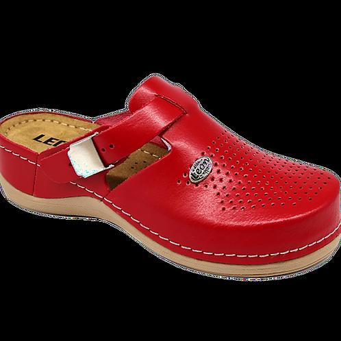 Сабо женские Leon 900 красный