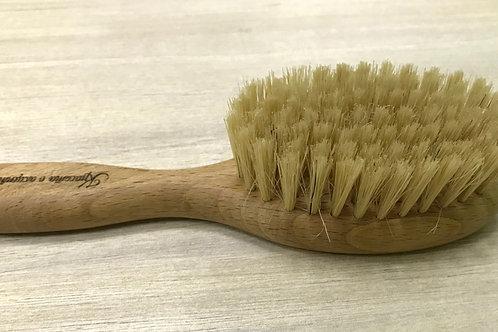 Щетка 19см для волос из натуральной щетины кабана мягкая