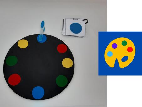 Nom de l'atelier individuel : Organisation spatiale : grilles de couleurs
