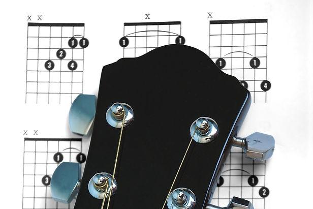 Druck-Vorlagen für Gitarristen und Musiker