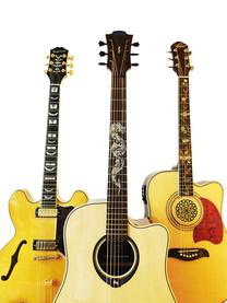 Sticky Tunes Gitarren Griffbrett-Aufkleber für die Verschönerung deiner Gitarre / E-Gitarre