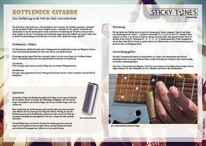 Bottleneck Gitarre